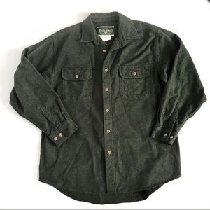 Field and Stream heavy shirt jacket flannel